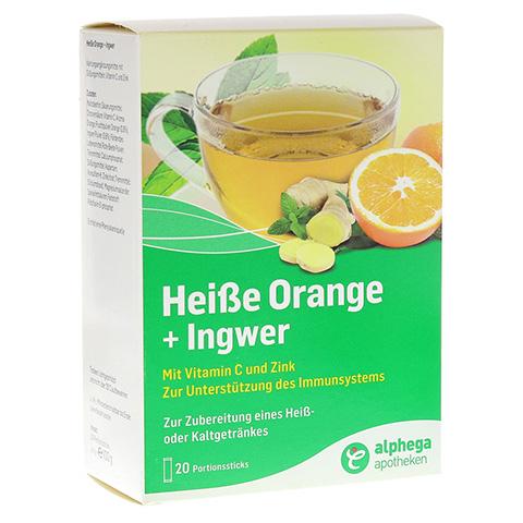 ALPHEGA heiße Orange+Ingwer Pulver 20x5 Gramm