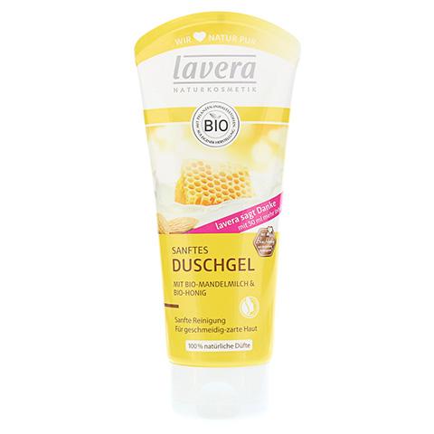 LAVERA Duschgel Bio-Mandelmilch+Bio-Honig 200 Milliliter