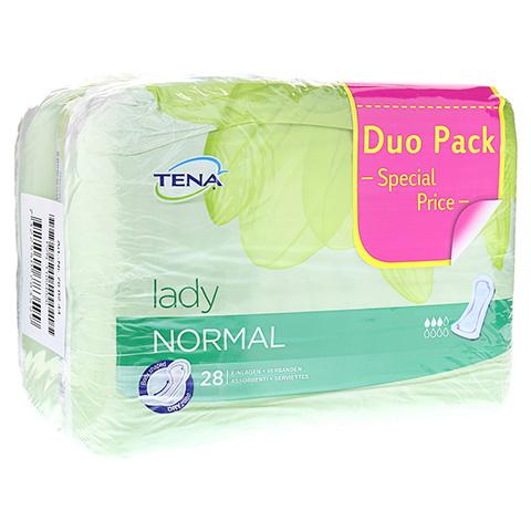 TENA LADY normal Einlagen Duopack 56 Stück
