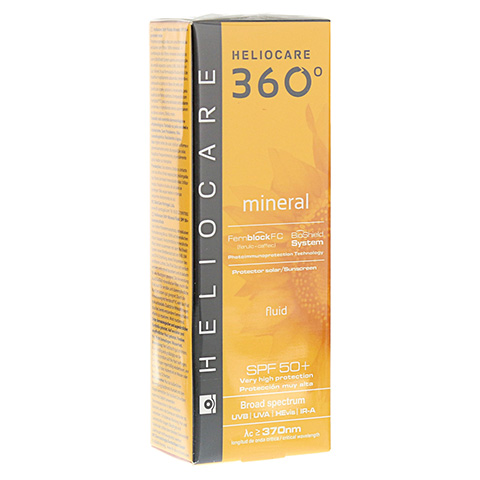 HELIOCARE 360° mineral Fluid SPF 50+ 50 Milliliter