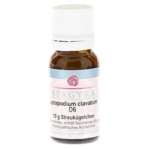 LYCOPODIUM CLAVATUM D 6 Globuli 10 Gramm N1