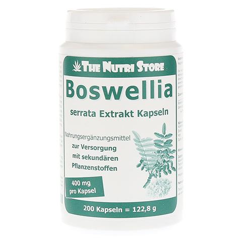 BOSWELLIA 400 mg Extrakt vegetarische Kapseln 200 Stück