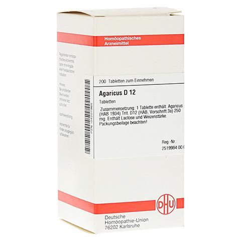 AGARICUS D 12 Tabletten 200 Stück N2