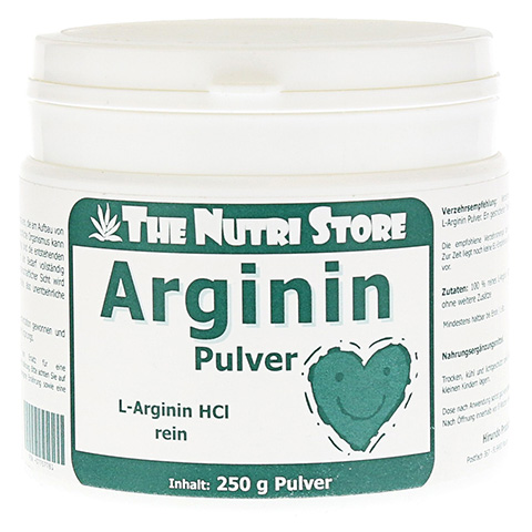ARGININ HCL 100% rein Pulver 250 Gramm