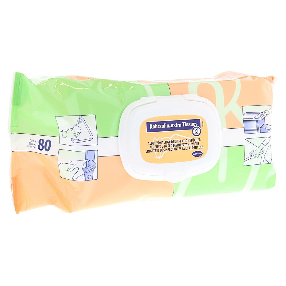 KOHRSOLIN extra Tissues 80 Stück
