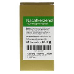 NACHTKERZENÖL 1000 mg pro Kapsel 60 Stück - Vorderseite