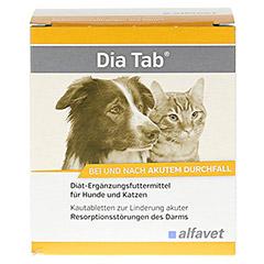 DIA TAB Kautabletten f.Hunde/Katzen 6x5.5 Gramm - Vorderseite
