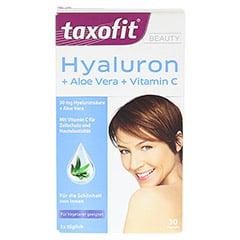 TAXOFIT BEAUTY Hyaluron+Aloe Vera+Vitamin C Kaps. 30 Stück - Vorderseite