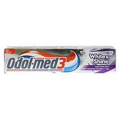 ODOL MED 3 White & Shine Zahnpasta 100 Milliliter - Vorderseite