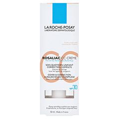 ROCHE-POSAY Rosaliac CC Creme + gratis La Roche-Posay Rosaliac Reinigungsgel 50 ml 50 Milliliter - Vorderseite