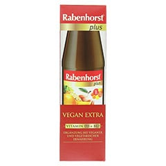 RABENHORST Vegan Extra plus Saft 450 Milliliter - Vorderseite