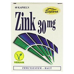 ZINK 30 mg Kapseln 60 Stück - Vorderseite