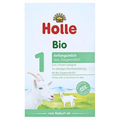 HOLLE Bio Anfangsmilch 1 auf Ziegenmilchbasis 400 Gramm - Vorderseite