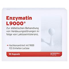 ENZYMATIN L 9000 Kapseln 90 Stück - Vorderseite