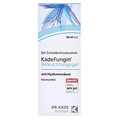 KADEFUNGIN Befeuchtungsgel + gratis SEBAMED Intim Waschlotion pH 6,8 für d.Frau ab 50 30 Milliliter - Vorderseite