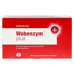 WOBENZYM Plus magensaftresistente Tabletten 360 Stück - Vorderseite