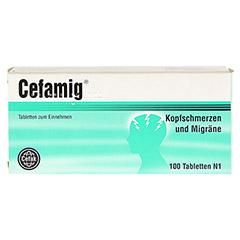CEFAMIG Tabletten 100 Stück N1 - Vorderseite