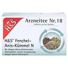 H&S Fenchel-Anis-Kümmel N 20 Stück - Vorderseite