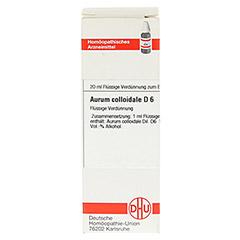 AURUM COLLOIDALE D 6 Dilution 20 Milliliter N1 - Vorderseite