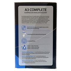 OMRON A3 Complete Kompressor-Inhalationsgerät 1 Stück - Rechte Seite