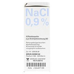 ISOTONE NaCl Lösung 0,9% BC Plast.Amp.Inj.-Lsg. 10x10 Milliliter N2 - Linke Seite