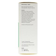 ALPHEGA heiße Orange+Ingwer Pulver 20x5 Gramm - Linke Seite
