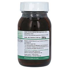 SPIRULINA MIKROALGEN 400 mg Sanatur Tabletten 500 Stück - Linke Seite