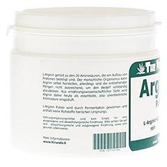 ARGININ HCL 100% rein Pulver 250 Gramm - Linke Seite