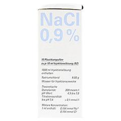 ISOTONE NaCl Lösung 0,9% BC Plast.Amp.Inj.-Lsg. 10x10 Milliliter N2 - Rechte Seite