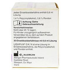 LIQUIFILM O.K. N Augentropfen 30x0.6 Milliliter - Rechte Seite