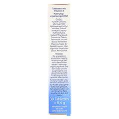 DOPPELHERZ Vitamin A 2500 I.E. Tabletten 30 Stück - Rechte Seite