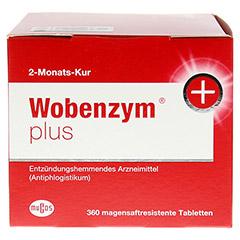 WOBENZYM Plus magensaftresistente Tabletten 360 Stück - Rechte Seite