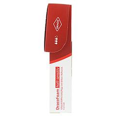DRACOFOAM Haft sensitiv Schaumst.Wund.5x5 cm 10 Stück - Rechte Seite