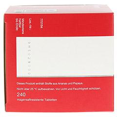 PHLOGENZYM aktiv magensaftresistente Tabletten 240 Stück - Rechte Seite