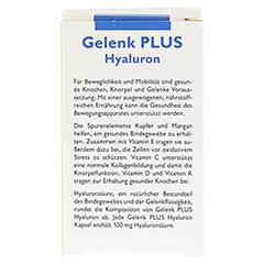 Grandel Gelenk PLUS Hyaluron Kapseln 60 Stück - Rückseite