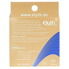 KINESIOLOGIE Tape Elyth 5 cmx5 m neutral 1 Stück - Rückseite