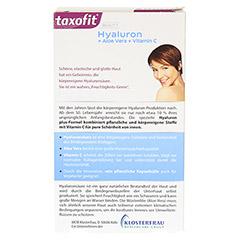 TAXOFIT BEAUTY Hyaluron+Aloe Vera+Vitamin C Kaps. 30 Stück - Rückseite