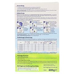 HIPP Pre Bio Combiotik Pulver 2060 600 Gramm - Rückseite