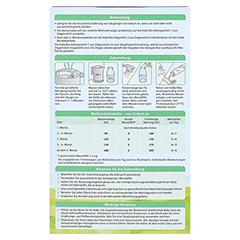 HOLLE Bio Anfangsmilch 1 auf Ziegenmilchbasis 400 Gramm - Rückseite