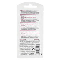 LAVERA intensiv Pflegemaske Wildrose 10 Milliliter - Rückseite