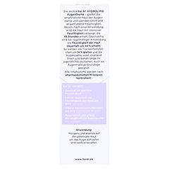 FREI ÖL Hydrolipid AugenCreme 15 Milliliter - Rückseite