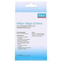 HALLUFIX Hallux Valgus Fußschiene Gr.36-42 1 Stück - Rückseite