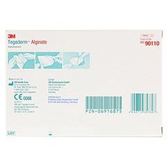 TEGADERM Alginate FK Kompressen 5x5 cm 90110 10 Stück - Rückseite