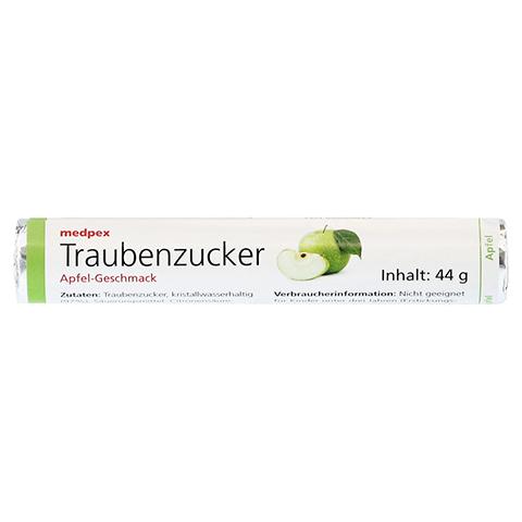 medpex Traubenzucker Apfel 44 Gramm