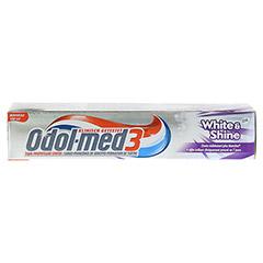 ODOL MED 3 White & Shine Zahnpasta 100 Milliliter - Oberseite