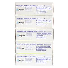 Calcium-dura Vit D3 Brause 600mg/400 I.E. 50 Stück N2 - Oberseite