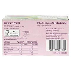 BAD HEILBRUNNER Kräutertee Basisch Vital Fbtl. 20 Stück - Unterseite