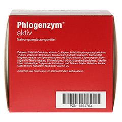 PHLOGENZYM aktiv magensaftresistente Tabletten 240 Stück - Unterseite