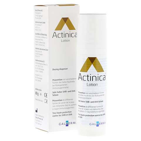 ACTINICA Lotion Dispenser 80 Gramm