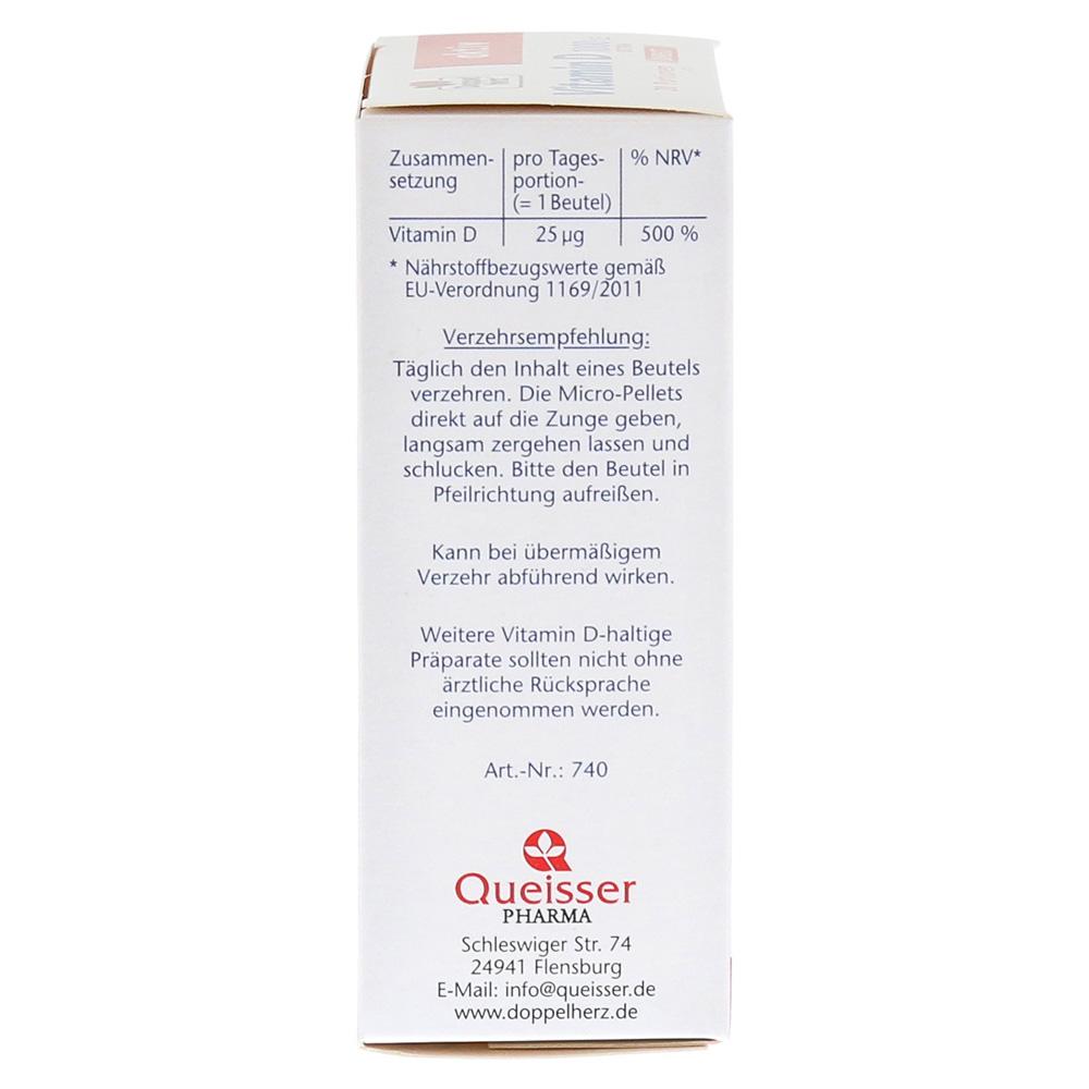 Doppelherz Vitamin D 1000 Ie Direct Pellets 20 Stück Online